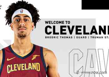 Cavaliers Waive Marques Bolden, Sign Brodric Thomas to Two-Way Contract