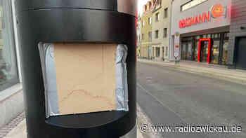 Blitzer in Meerane beschädigt - Radio Zwickau