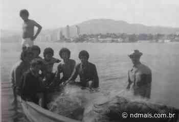 Memória: Equipe do Palmitos em Florianópolis. 1976 - ND Mais
