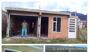 Familias en Sogamoso no pueden estrenar sus viviendas por hallazgo arqueológico - W Radio