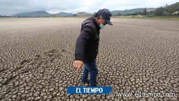 El desolador paisaje de la Laguna de Suesca: ¿qué ocurre? - El Tiempo