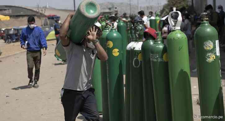 San Miguel: intervienen local que vendía oxígeno medicinal sin autorización de Digemid - El Comercio Perú