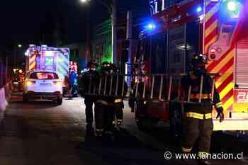 Incendio en vivienda de San Miguel dejó un saldo de tres personas lesionadas - La Nación (Chile)