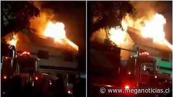 Violento incendio afecta a dos viviendas en San Miguel: Hay tres personas lesionadas - Meganoticias