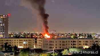 Incendio fábrica San Miguel - Nacional - 24Horas.cl