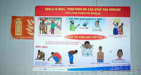 Ebola: Zahl der Toten im Kongo gestiegen - Deutsches Ärzteblatt: Aktuelles aus Gesundheitspolitik und Medizin