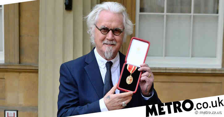 Sir Billy Connolly releasing first autobiography this year
