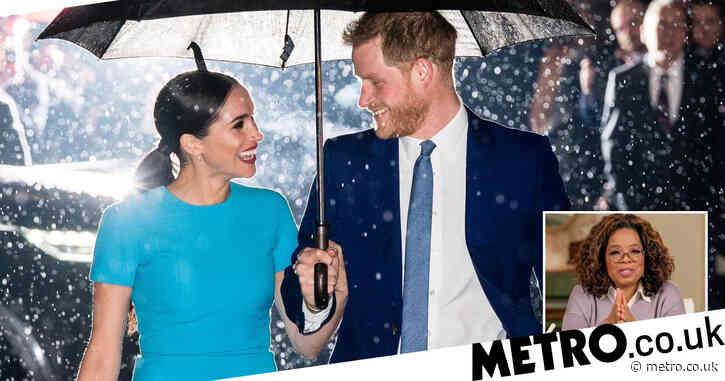 Harry and Meghan's Oprah interview sparks bidding war between UK broadcasters
