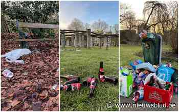 Gentse parken en Coupure liggen vol achtergelaten troep na drukke lentedag