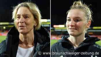 """DFB-Frauen mit 1:2 gegen Holland: """"Müssen cooler vorm Tor sein"""""""
