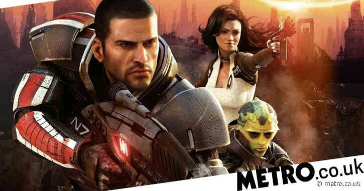 Henry Cavill seems to be working on a secret Mass Effect project