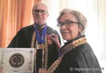 José Castro recebe Grã Cruz da Academia de Artes de Iguaba Grande - Região de Cister