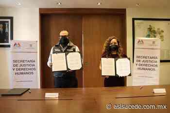 Firman Edomex y Ocoyoacac convenio para registrar verificadores - Noticiario Así Sucede