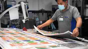Subnacionales: Más de 14 millones de papeletas se imprimen en Sucre y La Paz - Correo del Sur