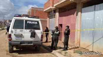 Un sujeto se suicida en Sucre luego de matar a sus dos hijos y a su pareja - Periódico La Patria (Oruro - Bolivia)