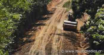 Reparan vías con acceso a playas en Guanacaste - Multimedios Costa Rica