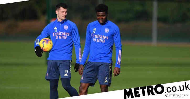 Granit Xhaka gives his verdict on Thomas Partey partnership in Arsenal midfield