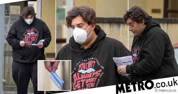 James Argent heads to GP for Covid-19 vaccine after fears he'd be in 'serious trouble' if he contracted it