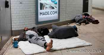 Ministers warned rough sleeping figures drop could mask surge in hidden homeless