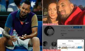 Nick Kyrgios is still following ex-girlfriend Chiara Passari on social media, was the break up real?