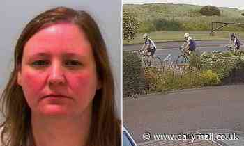 School worker who hit three cyclists and left them lying injured in the road jailed for 25 months