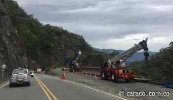Nuevo puente en Santa Fe de Antioquia próximamente unirá sus dos lados - Caracol Radio