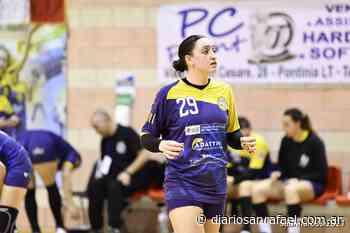 Ana Paula Rueda marcó un gol en el triunfo del Cassa Rurale Pontinia - Diario San Rafael