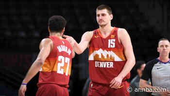Otra actuación memorable de Nikola Jokic y Jamal Murray en el triunfo de Denver Nuggets sobre Portland Trail Blazers - NBA AR