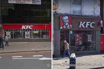Areas in SE London where KFC wants to open new restaurants