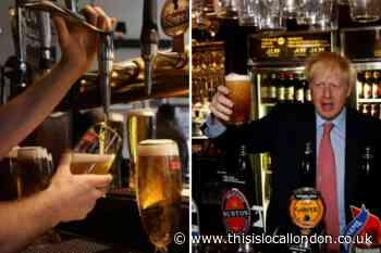 Boris Johnson hints at cheaper pints when pubs reopen
