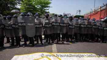 Militärputsch: Mehrere Verletzte bei Demonstrationen in Myanmar