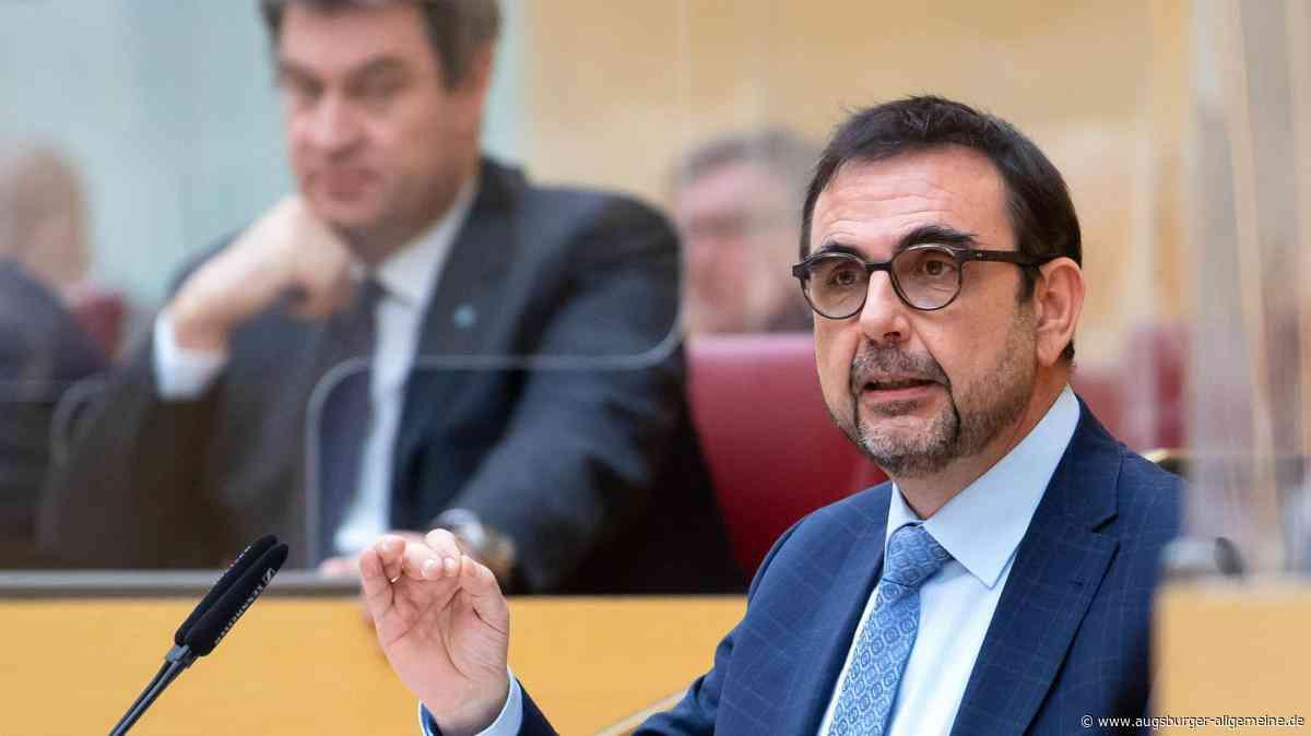 Bayerns Gesundheitsminister besucht das THW in Penzing