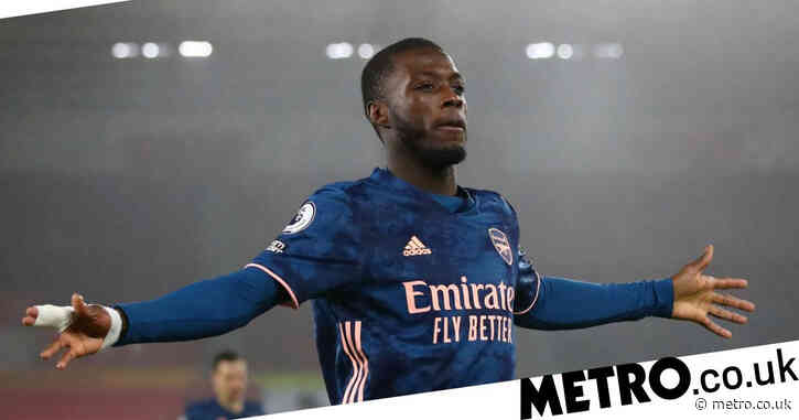 Nicolas Pepe looks 'very good' in changed position for Arsenal, says Granit Xhaka