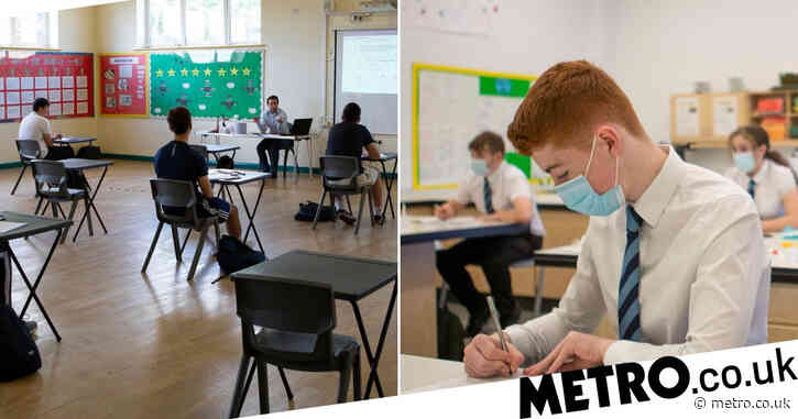Gavin Williamson sets out how 'fair exam grades' will be determined this year