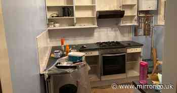 Ingenious mum transforms kitchen for £100 in two weeks while working full time