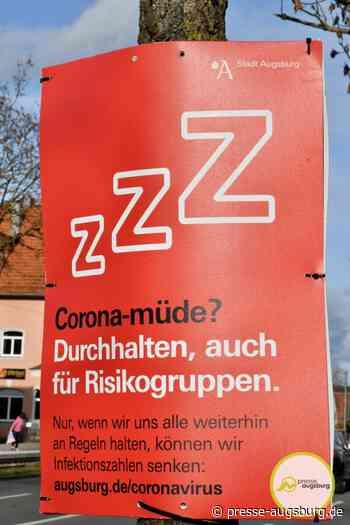 7-Tage-Inzidenz lässt in Augsburg nach