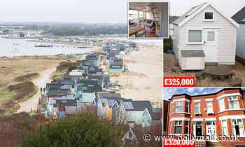 £325,000 for a beach hut... that DOESN'T face the sea