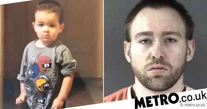 Man, 27, arrested after his girlfriend's two-year-old son was found dead in dumpster