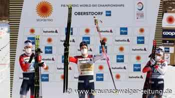 Nordische Ski-WM: Erste Langlauf-Show von Norweger Kläbo