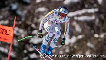 Ski alpin: Abfahrer Dreßen am Knie operiert