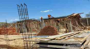 Piura: construyen colegio en Centro Poblado Km44 en Chulucanas LRND - LaRepública.pe