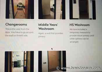 Boissevain parents voice bathroom privacy concerns - The Brandon Sun