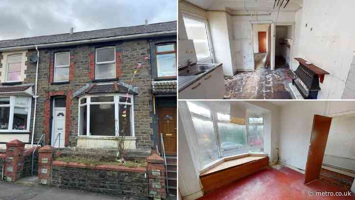 Britain's cheapest house up for auction with bids starting at £0