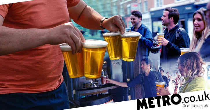 Takeaway pints can be served from April 12 as pub gardens reopen