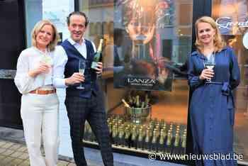 Ginneberge Hair Fashion weer van start met 500 flessen bubbels voor klanten