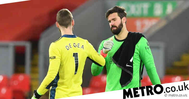 David de Gea sends message to Alisson after Liverpool goalkeeper's father is found dead