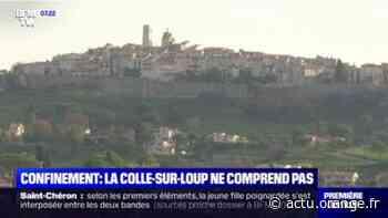 Confinement dans les Alpes-Maritimes: l'incompréhension à La Colle-sur-Loup - Actu Orange