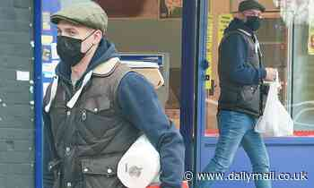 TOWIE's Kirk Norcross is seen for the first time since the death of his father Mick