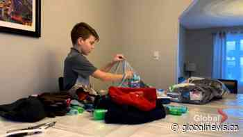 Seventh grader inspiring thousands to donate in Oromocto, NB | Watch News Videos Online - Globalnews.ca