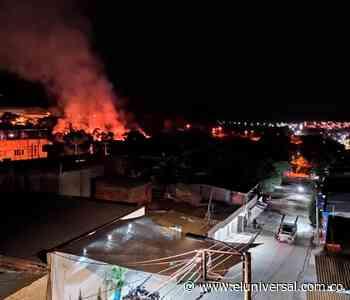 Incendio en Santa Rosa del Sur provoca pérdidas millonarias en locales comerciales - El Universal - Colombia